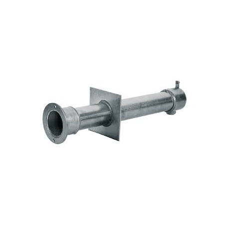Astralpool wall conduit for concrete pools stainless steel wall conduits length 240 mm