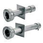 Astralpool stainless steel wall conduits length 240 mm