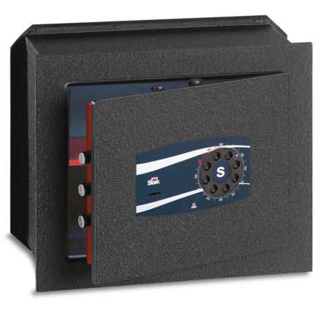STARK TOP Wall safe with double key and disc combination 465NP