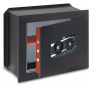 STARK TOP Wall safe with disc combination and grip knob 486NPP