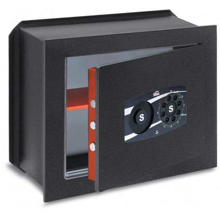 STARK TOP Wall safe with disc combination and grip knob 487N