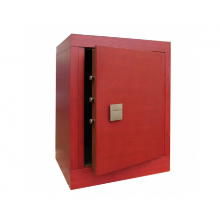 STARK Armored cabinet with double-bit key lock 3207MCRED