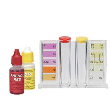 Zodiac Kit chlorine and Ph pool test