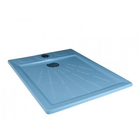 Astralpool Classic shower tray in polyester and fiberglass
