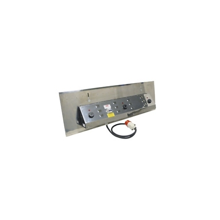 Ferraboli Electric panel with thermostat for roasters