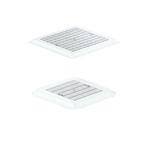 Astralpool Main drain grille in plastic 490 mm x 490 mm