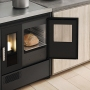 Eva Calòr Enrica pellet stove with oven and hob 1