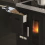 Eva Calòr Enrica pellet stove built-in with oven and hob 3