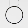 "Artemide design collection ""o"" suspension lamp 1"