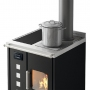 Eva Calòr Roberta stove with wood stove 1