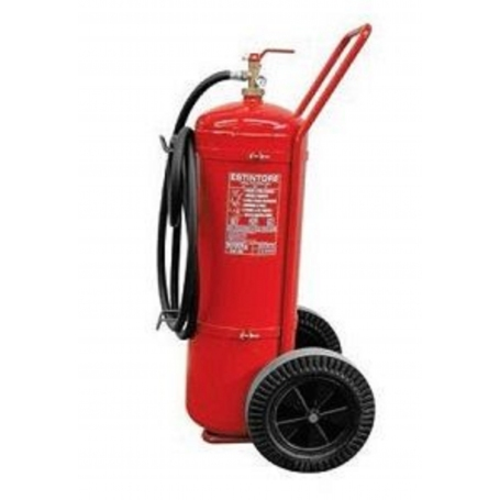 GIBI Portable Fire Extinguisher with trolley 100 kg