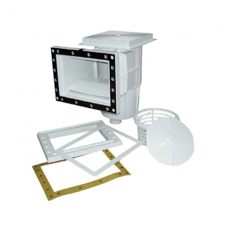 Astralpool Skimmer 15 Lt. square lid with inserts for liner pools.