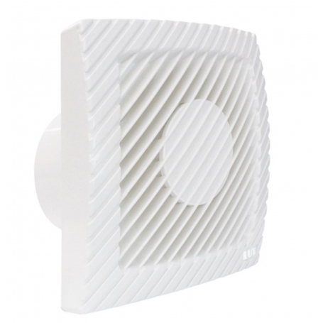 LUX L100C wall exhaust fan with adjustable humidity sensor and automatic opening and closing 1