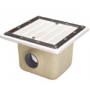 Astralpool Bottom drain for pools with liner and prefabricated square 512x512 mm